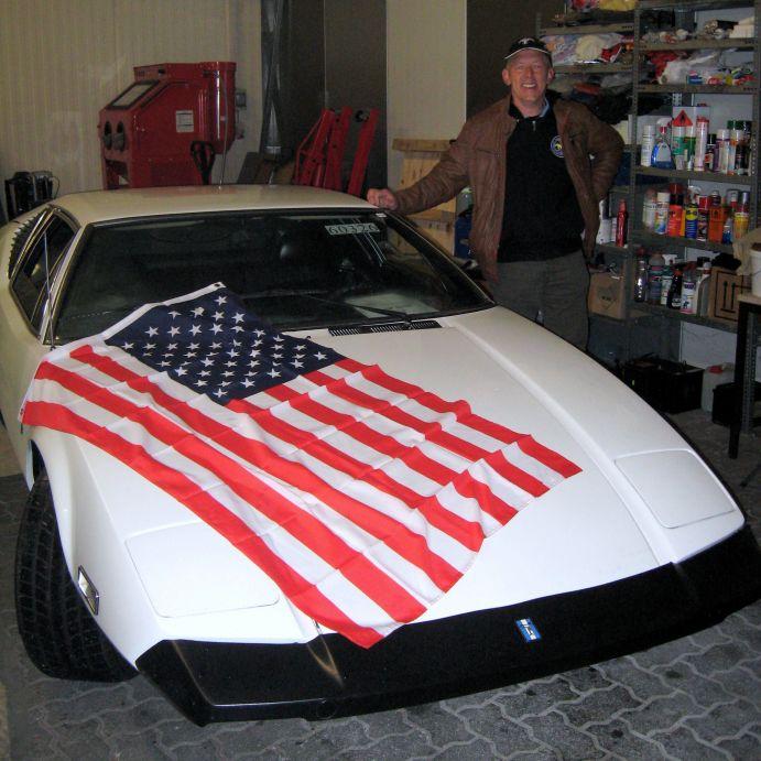 Ein seltener Italiener mit einem US V8 Motor importiert von UScarsvonNN