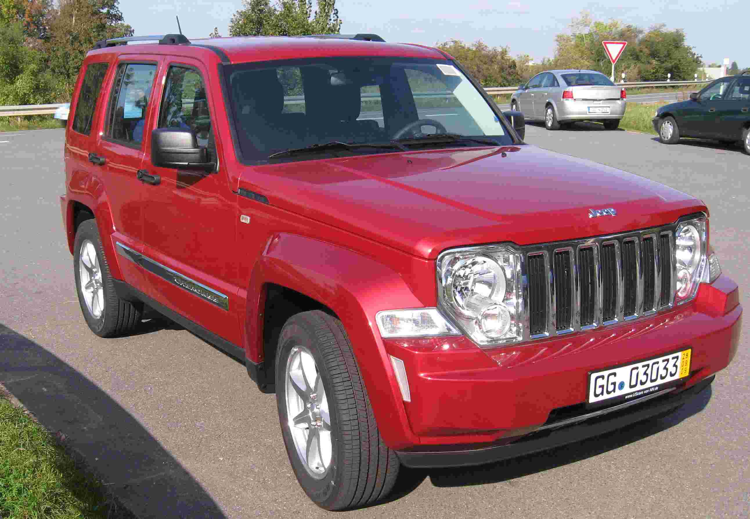JEEP CHEROKEE V6 RED EDITION 4x4