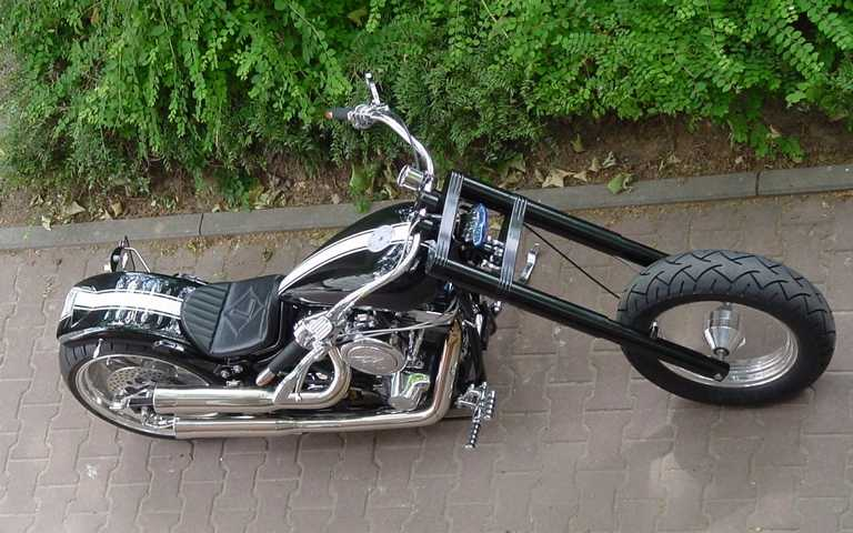 Harley Davidson Costum Bike